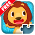 Wildlife Jigsaw Puzzles 123 for iPad Free - Fun Learning Puzzle Game for Kids